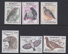 Mónaco: 1982 aves de Mercantour Park Juego SG1559-64 Estampillada sin montar