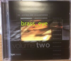 Richard Harvey Scenes and Atmospheres 2 Suspended Undescores KPM library CD