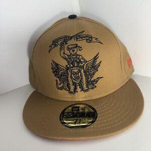 New Era Mishka hat Brown Skyway Trippers Cyclops 7 5/8