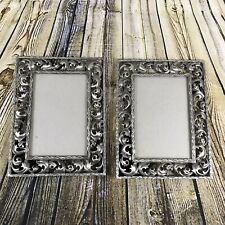 Lot Of 2 RUSS Silver 4x6 Photo Frames New