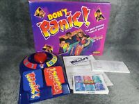 Vintage Don't Panic Board Game 1996, 100% Complete, Parts Resealed, Spears Games