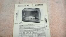Philco Portable Radio Model 50-620 Sams Photofacts Folders