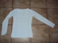 Sous-pull blanc en ML pour fille en 14 ans en TBE