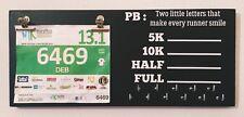 Runner PB Medal hanger/holder/display