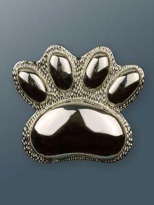Dog Door Knocker - 3 Finishes - Solid Brass Paw Door Knocker - Cat Door Knocker