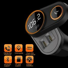 Dual USB Car Charger Wireless Bluetooth FM Transmitter for iPhone Samsung HUAWEI