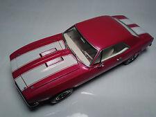 1967 Chevy Camaro ss 1/25 396 motor engine motor city muscle built model car GM