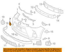 TOYOTA OEM 15-16 Prius C Front Bumper-Tow Hook Eye Cap Cover 5212752947