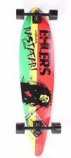 "Pintail 40"" longboard skateboard Black Trucks Black Wheels"
