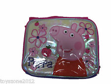 "B15PI25522 Peppa Pig Lunch Bag 8"" x 10"""