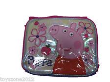 "B15PI25522 Peppa Pig Lunch Bag 8"" x 10"""