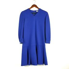 Vintage Romay of California Dress S M Royal  00004000 Blue Cheerleader Uniform Pleated