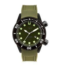 Herren Taucher Premium Uhr Luch Uboot Saphir Stahl Blende Groß Grün Gesicht