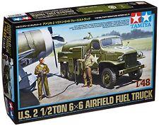 TAMIYA 1/48 US 2.5ton 6x6 AIRFIELD FUEL TRUCK Model Kit NEW from Japan