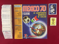 Panini Mexico 70 World Cup 1970 Complete Stickers Set + Empty Album