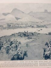 52606 ephemera 1914 Book Plate Ww1 South Africa General Beyers Dies Transvaal