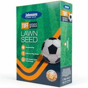 Johnsons Tuff Grass Dog Urine Resistant Lawn Seed 1.5kg