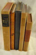 Lot of 5 Books Heritage Press Faust Lescaut Essays of Elia The Decameron Vintage