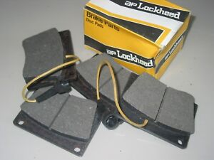 ROVER 3500 & 3500S  P6 FRONT BRAKE PADS WIRED NOS GENUINE LOCKHEED BOXED