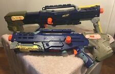 2x Nerf Longstrike CS-6 Sniper Rifle Dart Guns Only Mod Or Parts