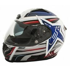 LEM Casco integrale con visiera parasole BORA STAR - BARGY DESIGN XS AZUL STAR