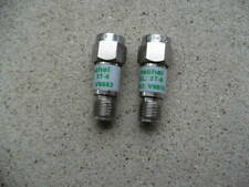Weinschel Rf Attenuators 3T-6 lot Used Cable Test Equipment Measurement Cell
