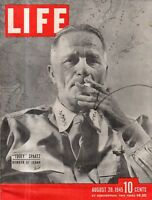 1945 Life August 20 - The War ends; The Atomic Bomb; China inflation; B Goodman