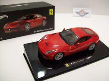 Ferrari f12 Berlinetta, rojo, 2012, Hot Wheels elite 1:43, embalaje original