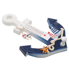 Anchor Thermometer Door Wall Hanging Ship Starfish Decor Hook Ocean Theme