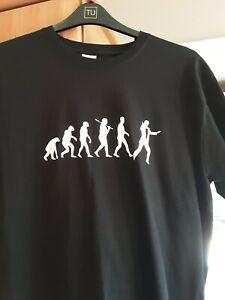 James Bond themed t shirt, large