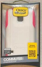 Brand New Original Otterbox Commuter Case for Samsung Galaxy S5 - White / Pink !