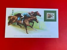 SOUTH AFRICA RSA 1983 CARD FRANKLIN HORSE RACING