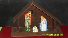 Goebel NATIVITY HOLY FAMILY 3 PIECES GERMANY  With Creche No Box