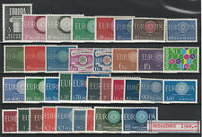 FRANCOBOLLI 1960 EUROPA CEPT ANNATA MNH Z/2514