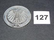 5 DM,Gedenkmünze,1985, 150 Jahre Eisenbahn (127)