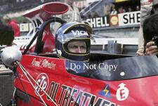 Ronnie Peterson March F1 Portrait 1972 Photograph 2