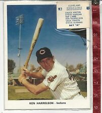 Vintage Lot 12 Cleveland Indians Color pictures 1971  FREE SHIPPING