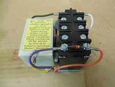 Warwick Controls Transformer Relay 2G1F0 460 VAC 16 A Amp 1/2 HP 10 VDC Coil New