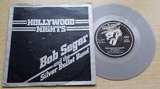 """BOB SEGER AND THE SILVER BULLET BAND-HOLLYWOOD NIGHTS-SILVER 45 GIRI 7""""-UK PRESS"""