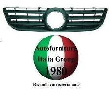 GRIGLIA ANTERIORE MASCHERA MASCHERINA NERA VOLKSWAGEN VW POLO 05>09 2005 AL 2009