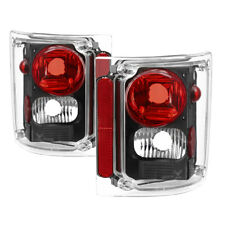 Chevy/GMC 73-87 C/K Truck Pickup Jimmy Blazer Suburban Black Tail Lights Set