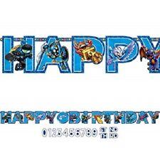 Skylanders Jumbo Happy Birthday Customize Letter Banner Kit Party Decor 7-7A