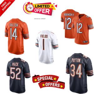 Andy Dalton  Football Chicago Bears Men's New  Jersey 2021 Free Shipping