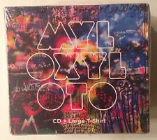 "Coldplay ""Mylo Xyloto"" Exclusive Limited Edition Bonus Large Tee & CD Rare! NEW"