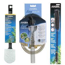 Marina Aquarium Cleaning Kit - Algae Scrubber - Mini Gravel Cleaner - Brushes