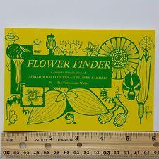 Flower Finder Pocket Identification Guide Watts Spring Wild Flowers