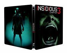 New & Sealed Blu ray Insidious 3 Steelbook  - Limited Edition EU Import