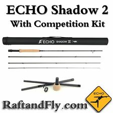 """Echo Shadow II 3wt 10'0"""" Nymph Fly Rod- Lifetime Warr.- COMPETITION KIT INCLUDED"""