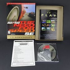 Road & Track The Need for Speed SE - PC CD Computer Game - Big Retail Box