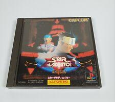 Playstation Star Gladiator Episode 1-Last Crusade Video Game-Japanese- Us Shippr